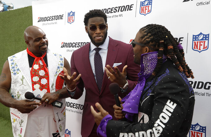 Hitting NFL draft's red carpet means dressing up for moment