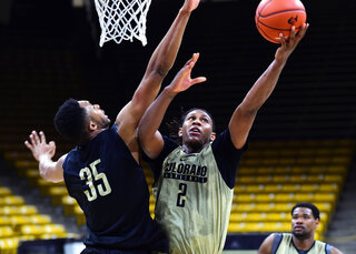 University of Colorado Basketball Media Day