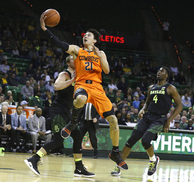 Oklahoma St's Waters draws focus to Native American players