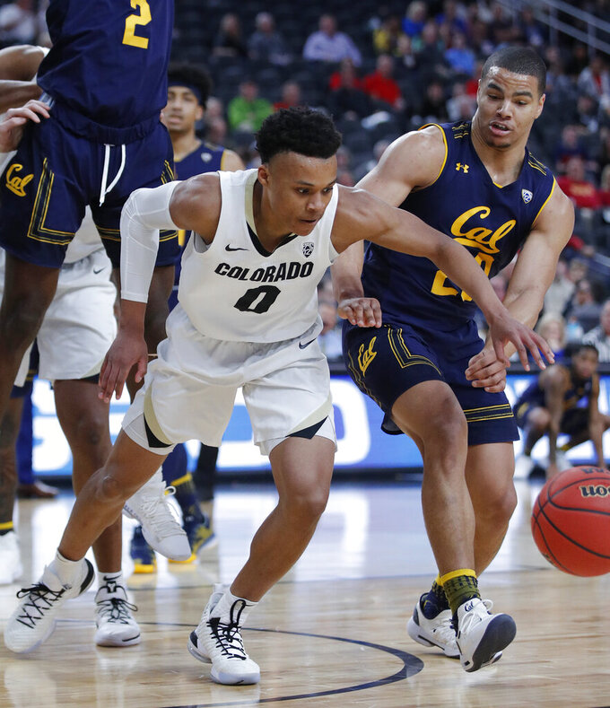 Wright leads Colorado to 56-51 win over Cal at Pac-12