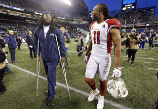 Richard Sherman, Larry Fitzgerald