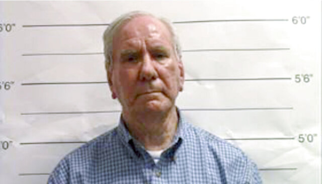 FILE - This Sept. 21, 2019, file booking image made from video and provided by the Orleans Parish Sheriff's Office in New Orleans, La., shows George Brignac. Brignac, a longtime Roman Catholic deacon and schoolteacher awaiting trial on rape charges in New Orleans, died Monday, June 29, 2020, after a brief hospitalization. (Orleans Parish Sheriff's Office via AP, File)