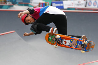 Indonesia Asian Games Skateboard