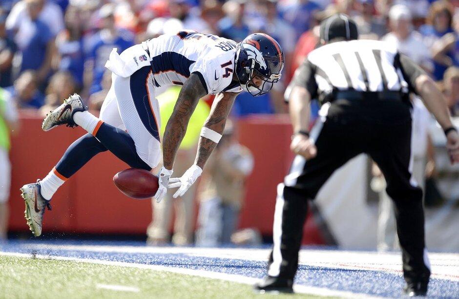 APTOPIX Broncos Bills Football