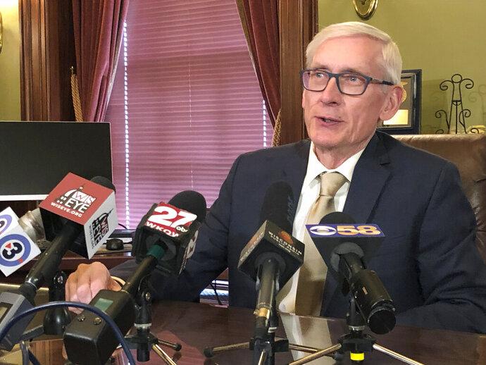 Wisconsin Gov. Tony Evers says he thinks it's