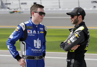 Alex Bowman, Jimmie Johnson