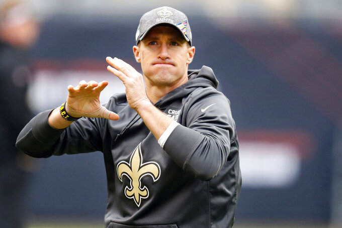 Saints QB Brees says playing against Cardinals is 'the plan'