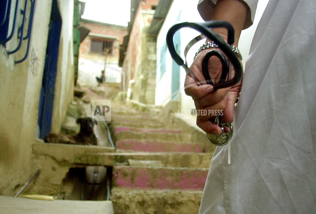 Associated Press International News Venezuela VENEZUELA CUBAN DOCTORS