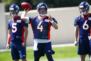 Case Keenum, Chad Kelly, Nick Stevens