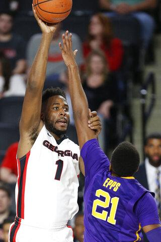 LSU Georgia Basketball