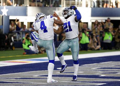 Cowboys Elliott Football