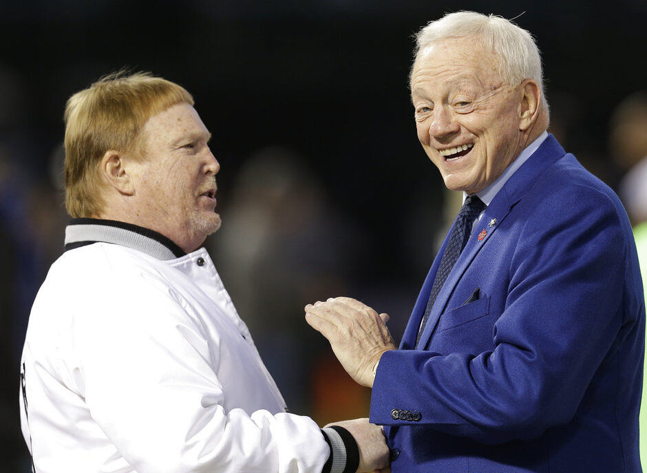 Jerry Jones, Mark Davis