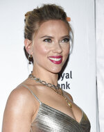 Actress Scarlett Johansson attends the premiere for