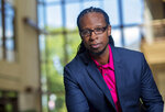 In this undated photo provided by American University, Ibram X. Kendi, author of