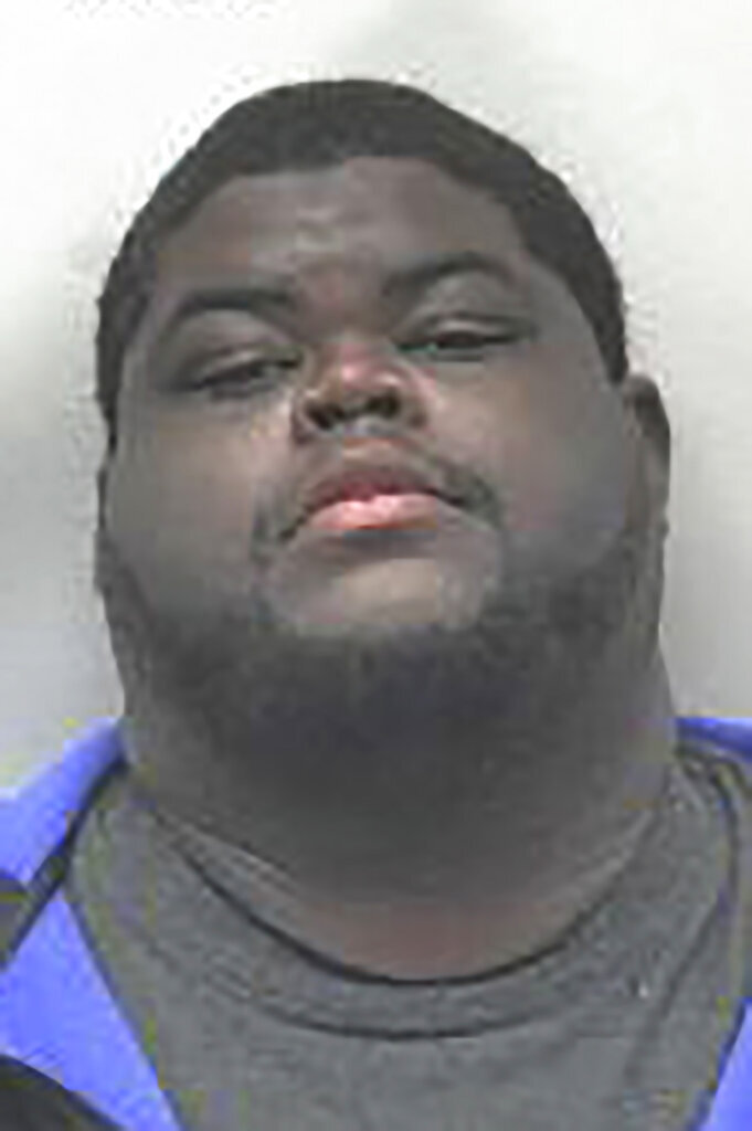 This undated photo provided by Hammond Indiana Police Department shows Akeem Jackson. Jackson, a Chicago man has pleaded guilty in an armored truck robbery in northwestern Indiana that netted several suspects more than $600,000 in cash. Jackson pleaded guilty on Monday, Sept. 9, 2019 in federal court in Hammond to robbery and armed robbery. (Hammond Police Department via AP)