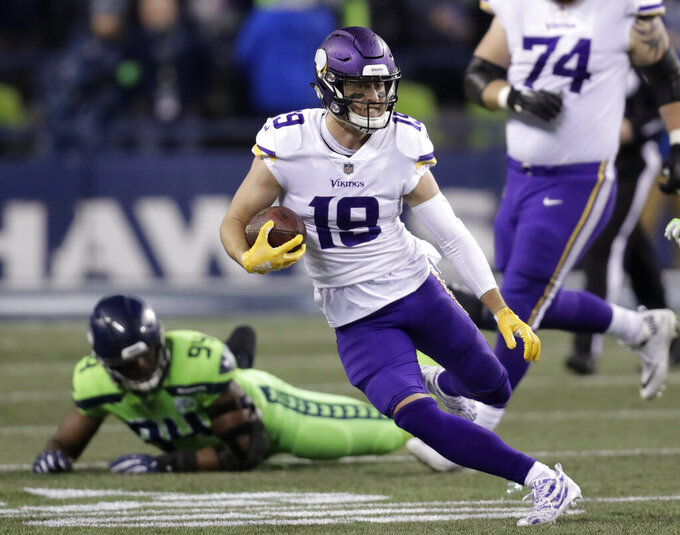Vikings, Thielen agree to 4-year, $64M extension
