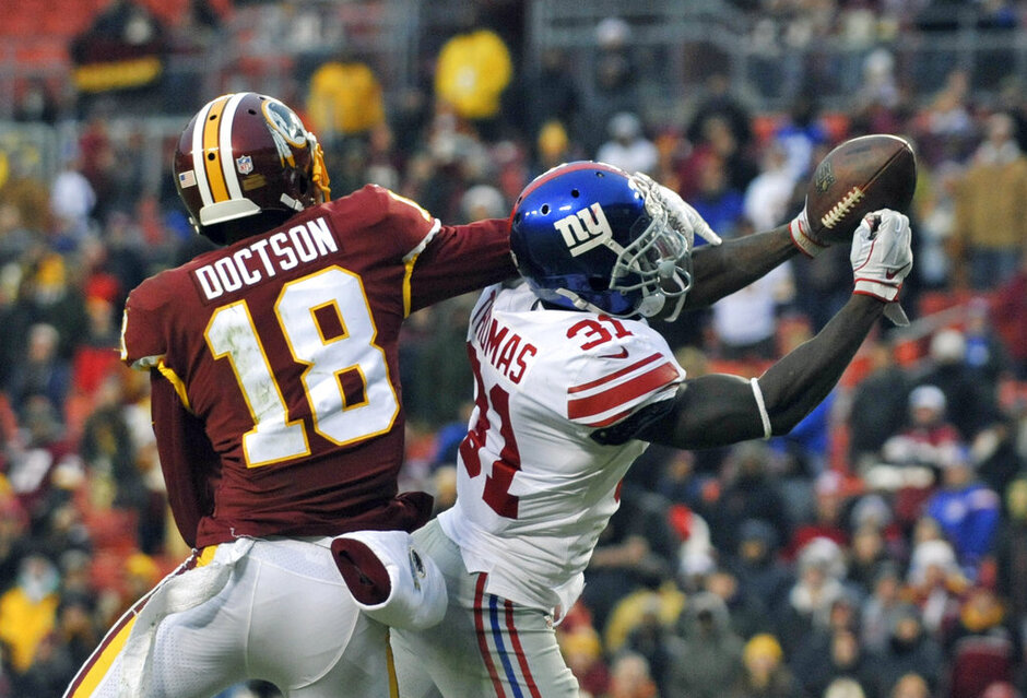 Giants Redskins Football