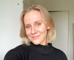 Ella Ahmas, a 23-year-old business student at Aalto University, poses for a selfie photo in Helsinki, Finland, Sept. 15, 2020. With no end in sight to the global pandemic, more countries and states are turning to mobile tech to help fight infections. Ahmas said she was surprised that the Finland government had been able to persuade so many people to get the mobile app to fight the spread of coronavirus. (Ella Ahmas via AP)