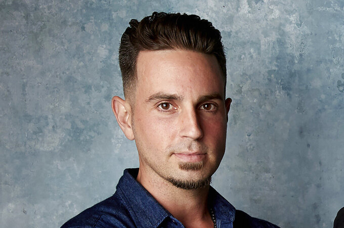 """FILE - In this Jan. 24, 2019, file photo, Wade Robson poses for a portrait to promote the film """"Leaving Neverland"""" during the Sundance Film Festival in Park City, Utah. On Monday, April 26, 2021, a judge dismissed the lawsuit of Robson, who alleged that Michael Jackson abused him as a boy in the HBO documentary """"Leaving Neverland."""" (Photo by Taylor Jewell/Invision/AP, File)"""
