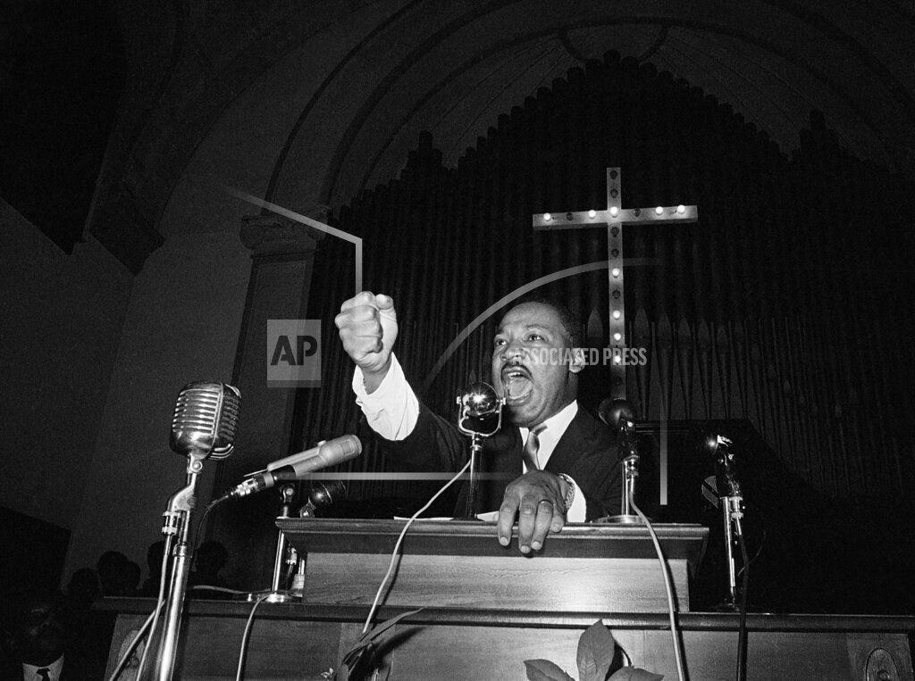 Watchf Associated Press Domestic News  Georgia United States APHS151581 Civil Rights MLK 1965