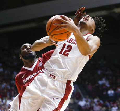 Arkansas Alabama Basketball