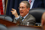 Chairman of the House Judiciary Committee Rep. Bob Goodlatte, R-Va., questions FBI Deputy Assistant Director Peter Strzok during a hearing on