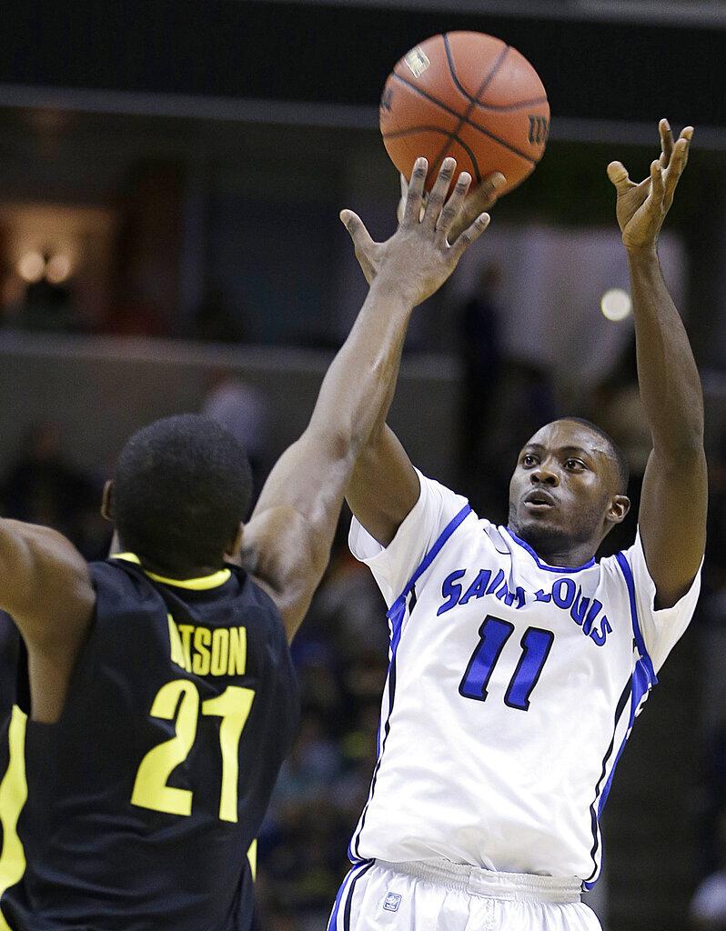 NCAA Saint Louis Oregon Basketball