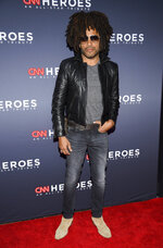 FILE - Musician Lenny Kravitz attends the 12th annual CNN Heroes: An All-Star Tribute in New York on Dec. 9, 2018.  In a new memoir,