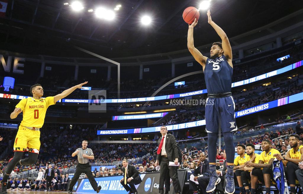 NCAA Xavier Maryland Basketball
