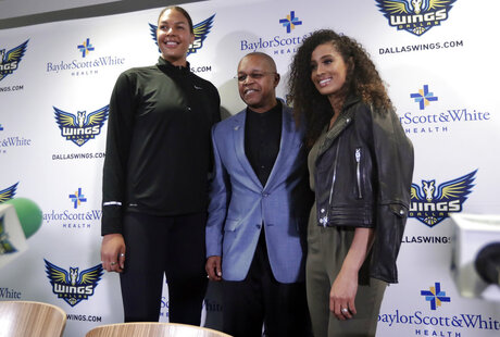 Skylar Diggins Smith, Fred Williams, Liz Cambage,