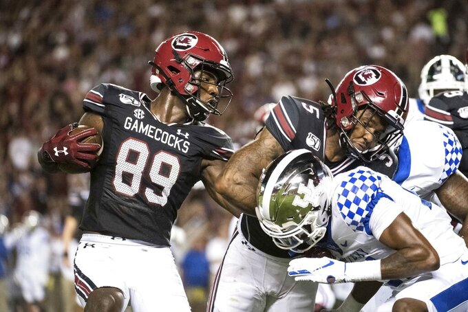 South Carolina looks to build on second win during week off
