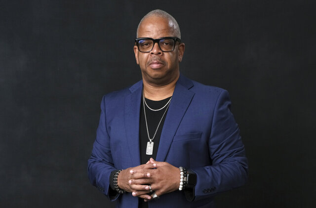 FILE - Terence Blanchard poses for a portrait at the 91st Academy Awards Nominees Luncheon on Feb. 4, 2019, in Beverly Hills, Calif. The Metropolitan Opera will skip an entire season for the first time in its nearly 140-year history due to the novel coronavirus and intends to start the 2021-22 season with Terence Blanchard's