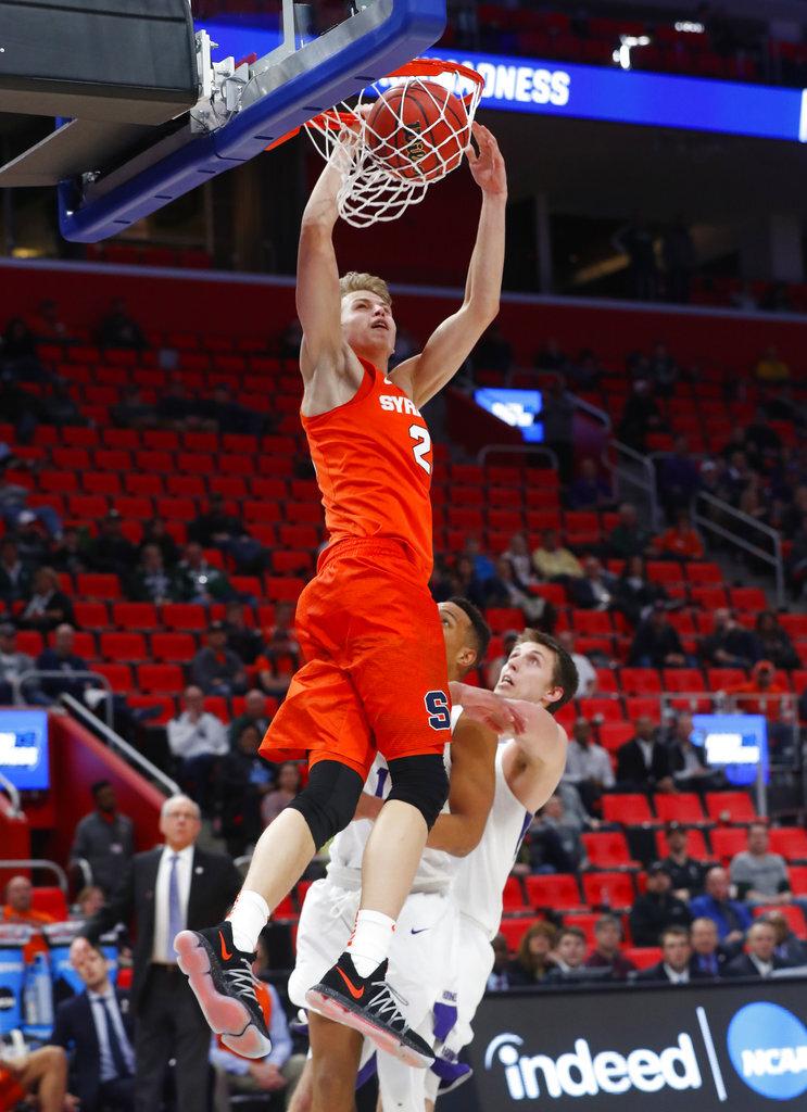 NCAA Syracuse TCU Basketball