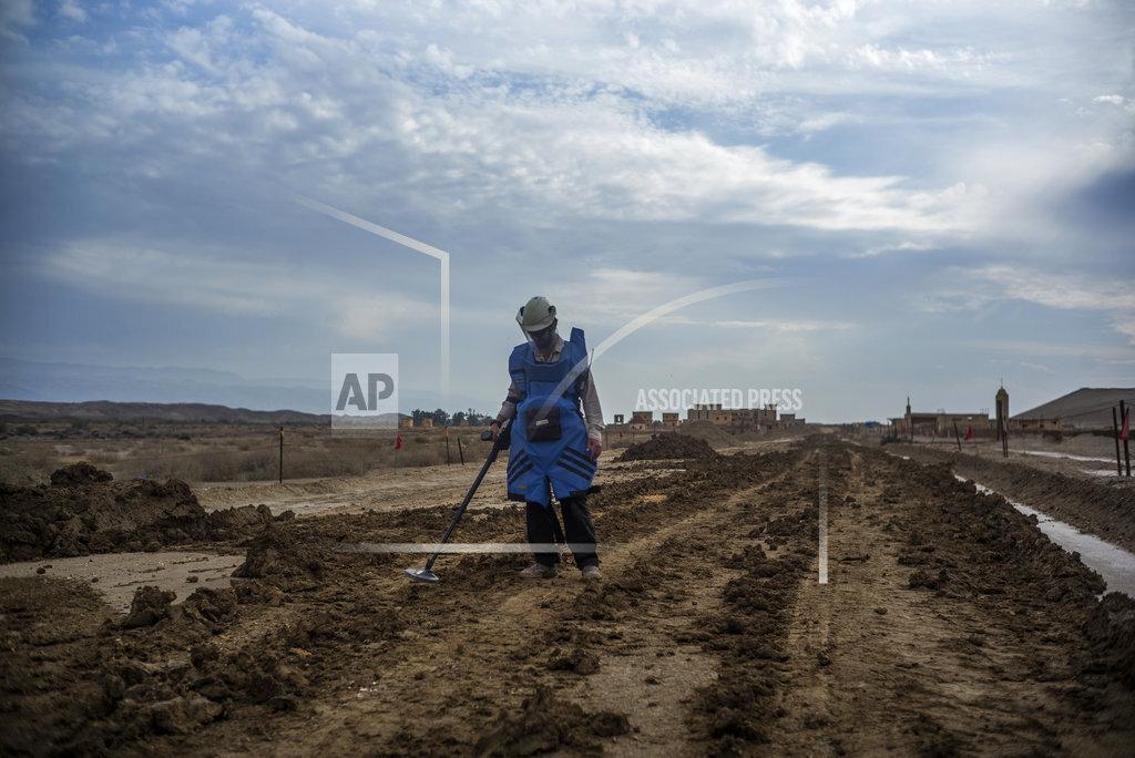 Clearing of the landmines at Jesus' baptism site in Qasr al-Yahud