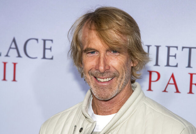 FILE - In this March 8, 2020 file photo, Michael Bay attends the world premiere of