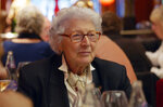 """Colette Marin-Catherine appears in a scene from the Oscar-nominated documentary short """"Collette,"""" about a French woman who was part of the resistance during World War II. (Rose Bush via AP)"""