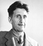 "FILE - In this undated file photo, writer George Orwell poses at an unknown location. A George Orwell exhibit in New Mexico is tackling the themes of the novelist's work from ""1984"" to ""Animal Farm."" ""George Orwell: His Enduring Legacy,"" which runs to April at the University of New Mexico, features posters and material related to work challenging totalitarianism. (AP Photo/File)"