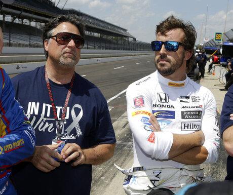 Michael Andretti, Fernando Alonso