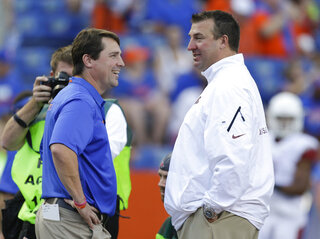 Will Muschamp,  Bret Bielema