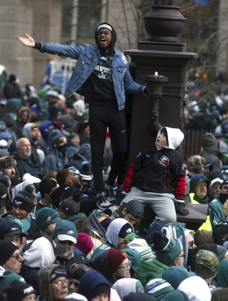 Super Bowl Eagles Parade