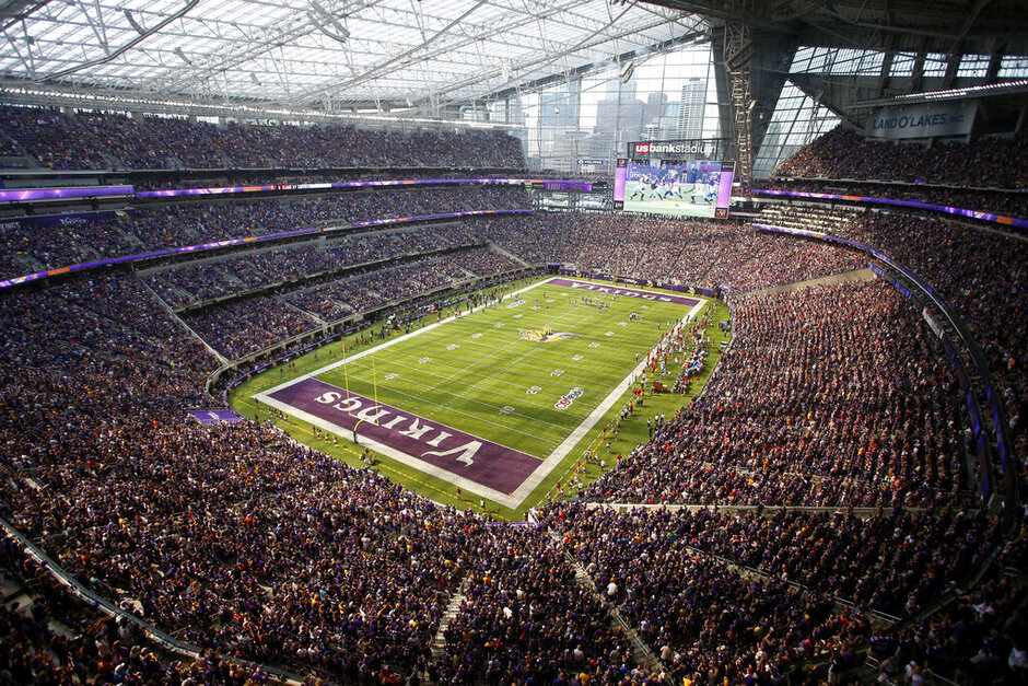 Vikings Stadium Security