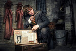 This image released by Warner Bros. Pictures shows Eddie Redmayne in a scene from