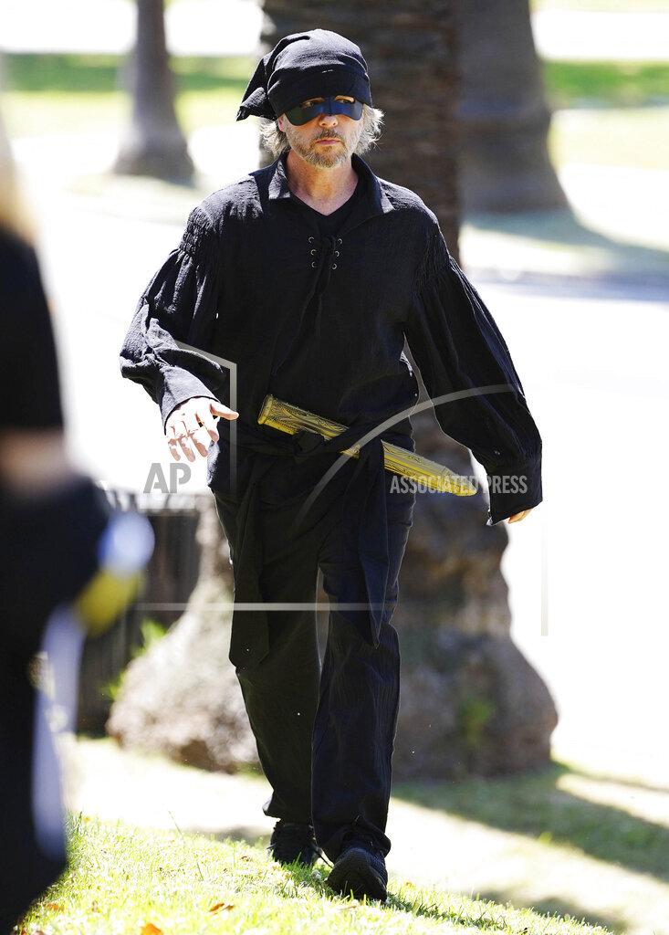 David Spade is seen in Los Angeles - 5/21/20