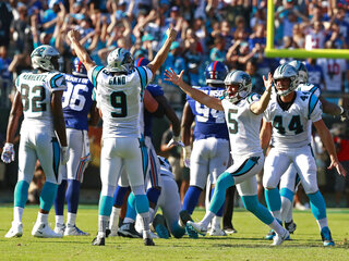 APTOPIX Giants Panthers Football
