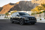 This photo provided by Audi shows the Audi Q7, a three-row midsize luxury SUV that has received a number of notable updates for 2020, including a dual-screen infotainment system. (Courtesy of Audi via AP)