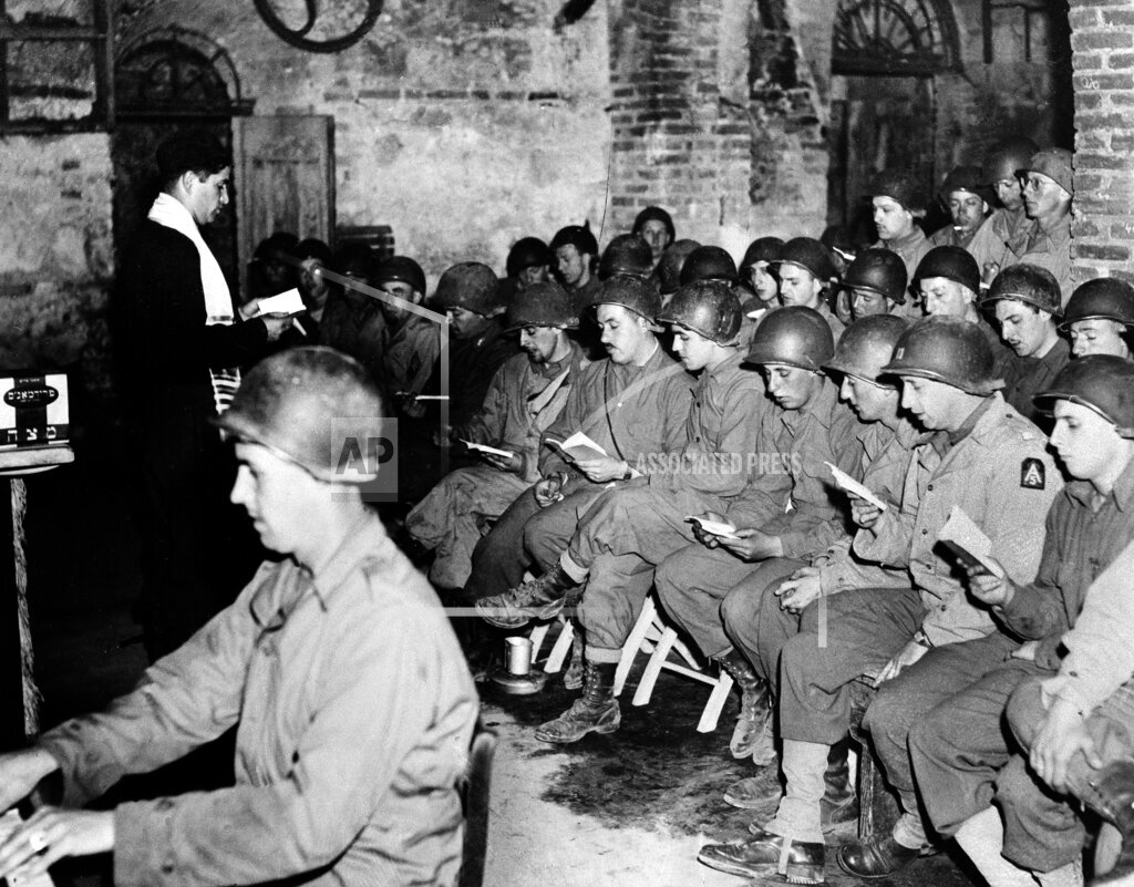 Associated Press International News Italy WORLD WAR II RELIGION