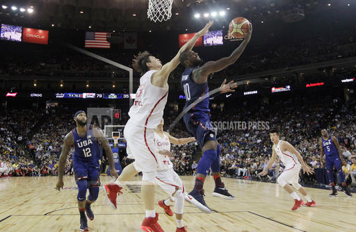 China US Basketball