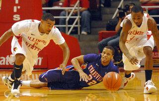 Evansville Illinois St Basketball