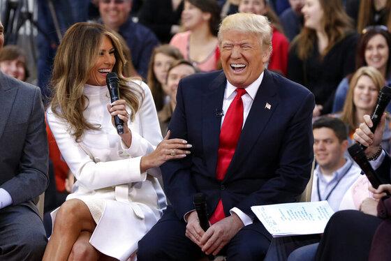 Donald Trump, Melania Trump,