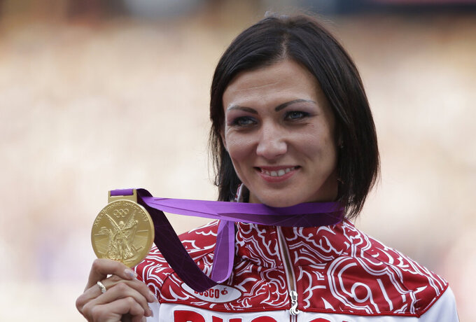 2 Olympic champions among 4 Russians with new doping charges